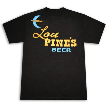 True Blood Lou Pine's Werewolf Bar Black Graphic T Shirt