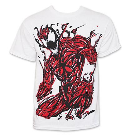 SpiderMan Carnage TShirt - White