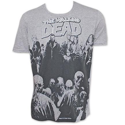 Walking Dead Walker TShirt - Gray