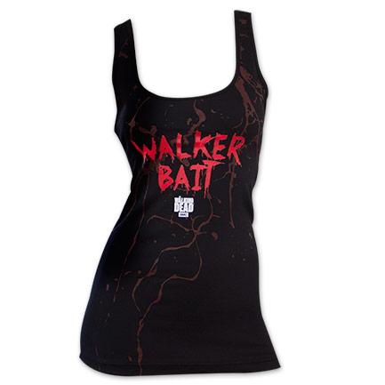Women's Walker Bait Walking Dead Tank Top