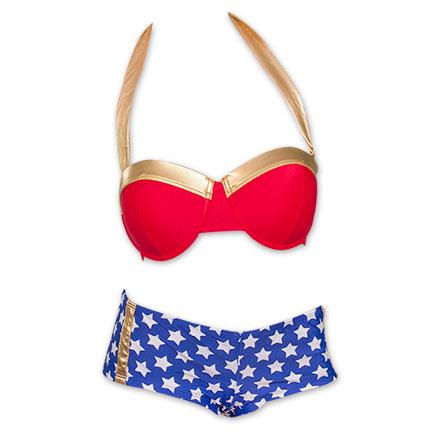 Wonder Woman Underwire Bikini Swimsuit
