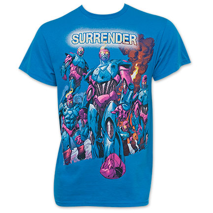 X-Men Sentinels Men's Turquoise Tee Shirt