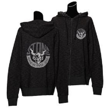 Stone Brewing Rock Solid Zip Hoodie
