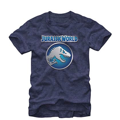 Jurassic World Emblemnation Blue T-Shirt