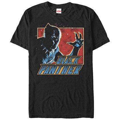 Black Panther Cat Like Black Mens T-Shirt