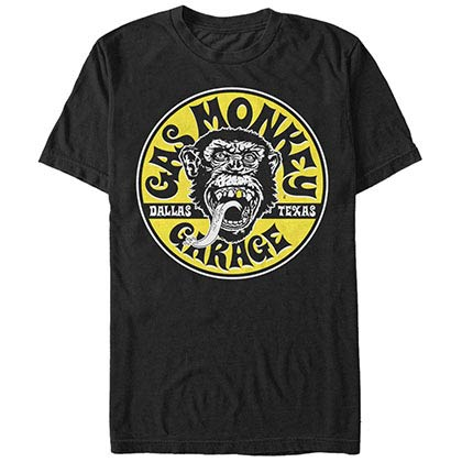 Gas Monkey Garage Equipped Black T-Shirt