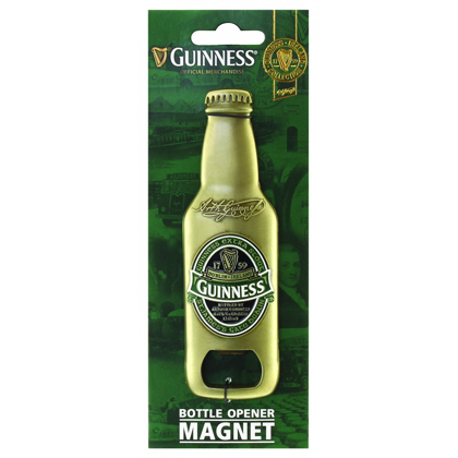 Guinness Ireland 3d Bottle Opener Magnet