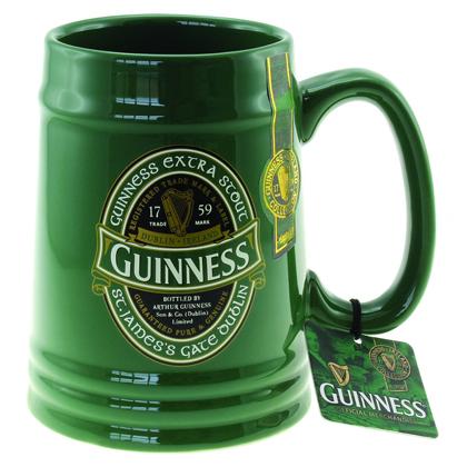 Guinness Ireland Ceramic Tankard Mug