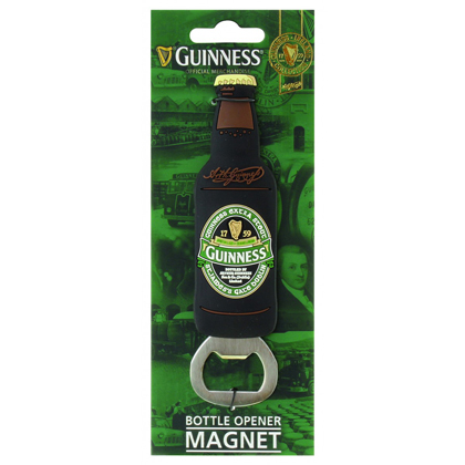 Guinness Ireland Bottle Shape Bottle Opener