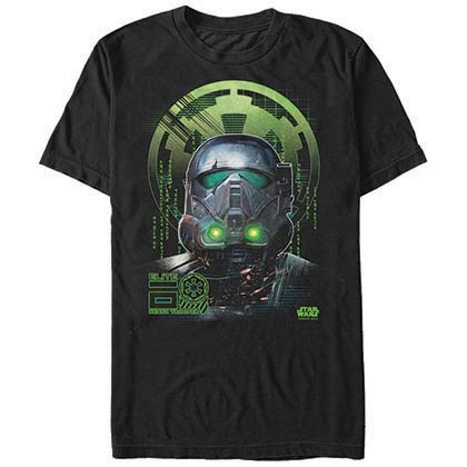 Star Wars Rogue One Death Knight Black T-Shirt