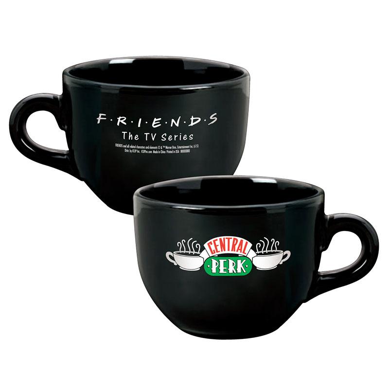 Friends Black Central Perk Coffee Mug