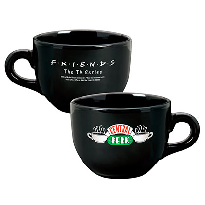 Friends Black Central Perk Coffee Mug