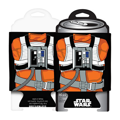 Star Wars Luke Skywalker X-Wing Pilot Can Cooler