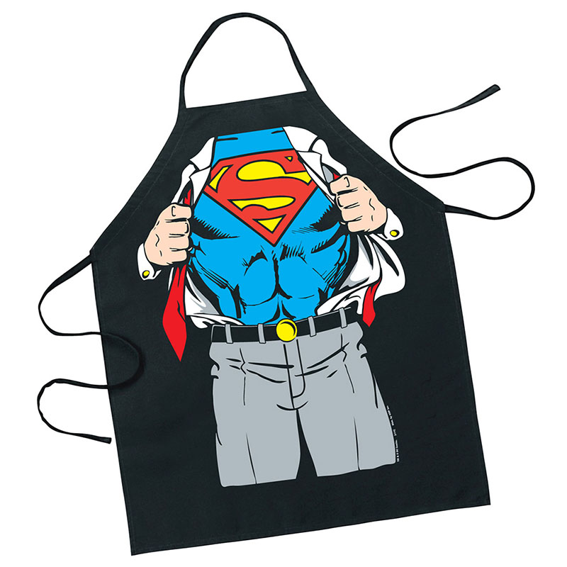 Superman Clark Kent Costume Apron