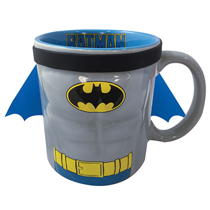 Batman Ceramic Caped Coffee Mug