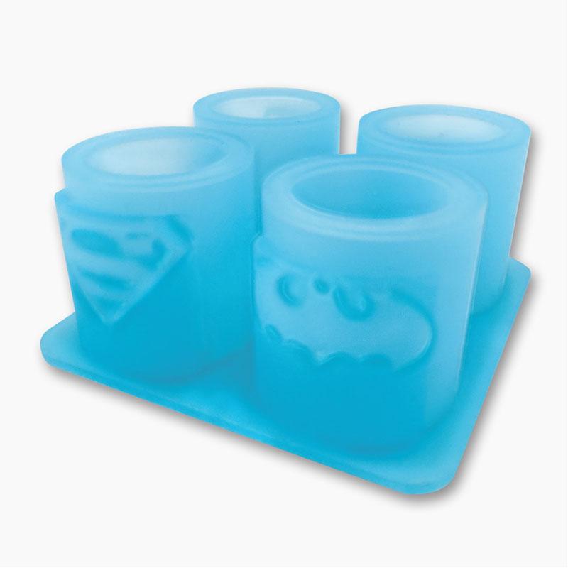 DC Comics Shot Glasses Made of Ice