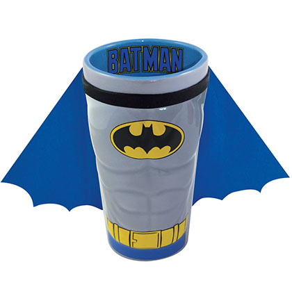 Batman Caped Pint Glass
