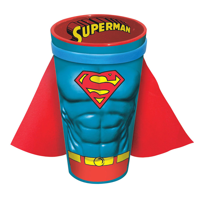Superman Caped Costume Pint Glass