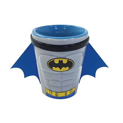 Batman Blue Shot Glass With Cape