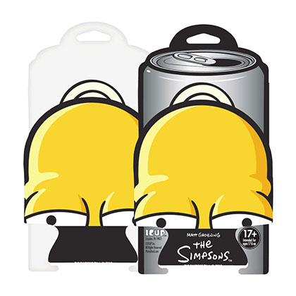 The Simpsons Beer Can Homer Head Cooler