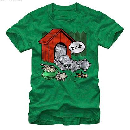 Star Wars Doghouse Green T-Shirt