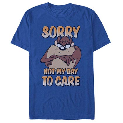 Looney Tunes Not My Day Blue T-Shirt