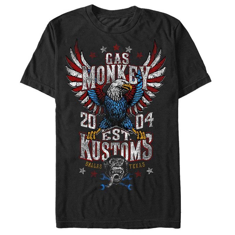 Gas Monkey Garage Rider Nation Black T-Shirt