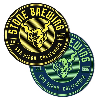 Stone Brewing Co. Round Criterion Sticker