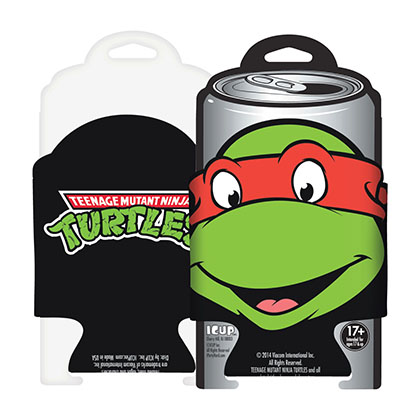Teenage Mutant Ninja Turtles Raphael Beer Can Cooler