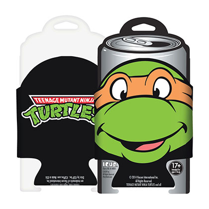 Teenage Mutant Ninja Turtles Michelangelo Beer Can Cooler