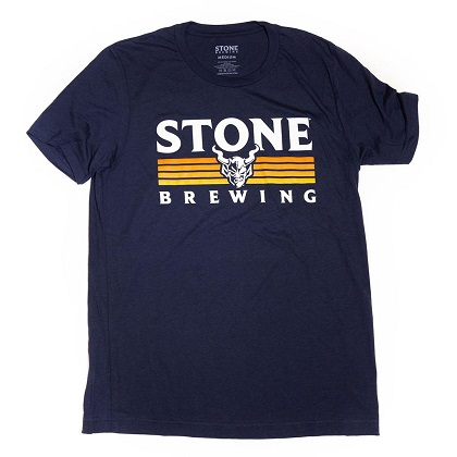 Stone Brewing Co. Men's Navy Blue Paramount T-Shirt