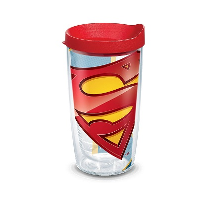 Tervis Superman 16 Ounce Tumbler With Lid