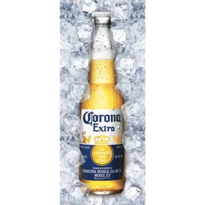 Corona Retractable Bottle Banner
