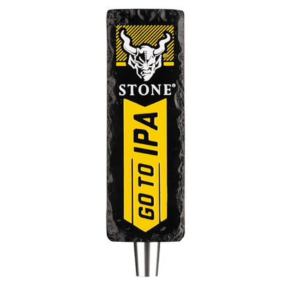 Stone Brewing Go To IPA Tap Handle