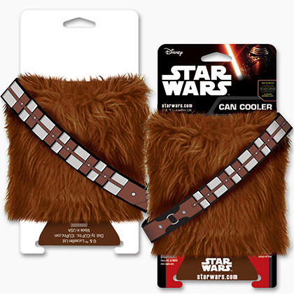 Star Wars Beer Can Furry Chewbacca Cooler