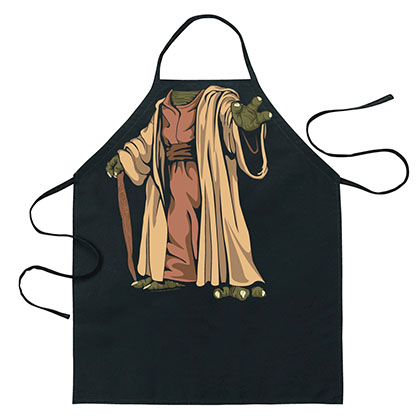 Star Wars Yoda Costume Apron