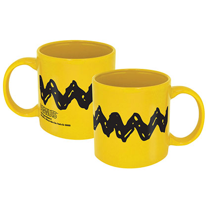 Charlie Brown Yellow Coffee Mug