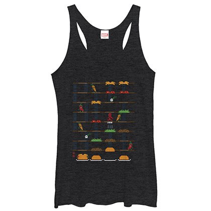 Deadpool Game Black Juniors Tank Top
