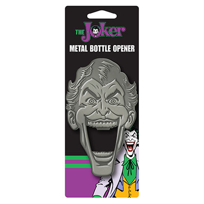 Batman Metal Joker Bottle Opener