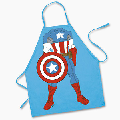 Captain America Youth Cooking Apron