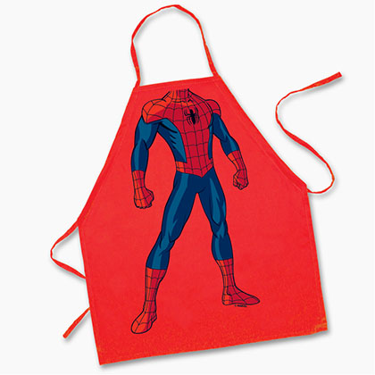 Spiderman Youth Cooking Apron