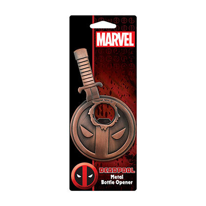 Deadpool Metal Bottle Opener