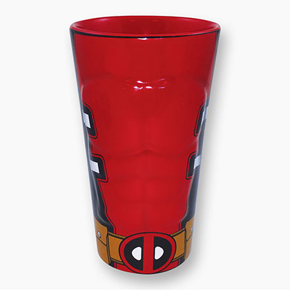 Deadpool Molded Pint Glass