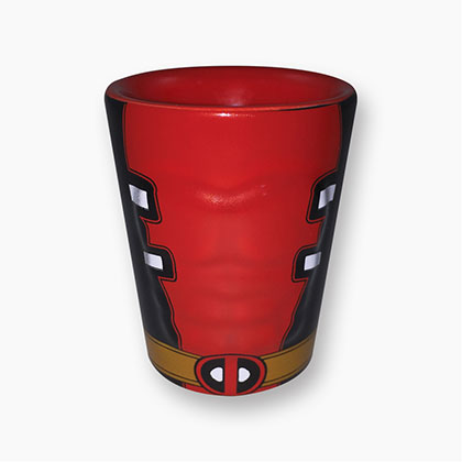 Deadpool Molded Shot Glass