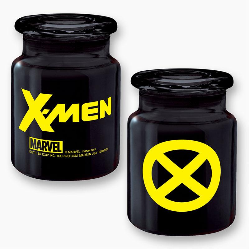 X-Men Black Apothecary Jar