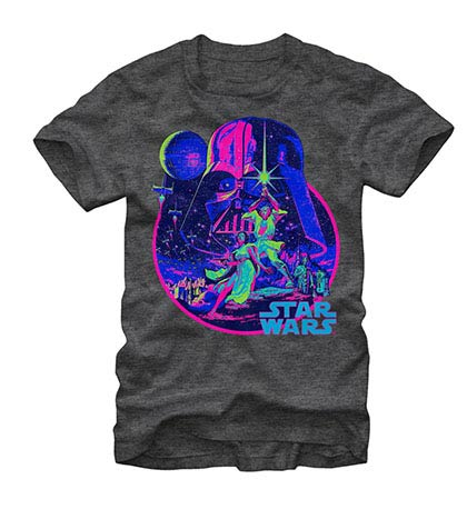 Star Wars Acid Dawn Gray T-Shirt