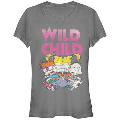 Rugrats Nickelodeon Wild Gray T-Shirt