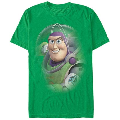 Disney Pixar Toy Story 1-3 Buzz Lightyear Green T-Shirt