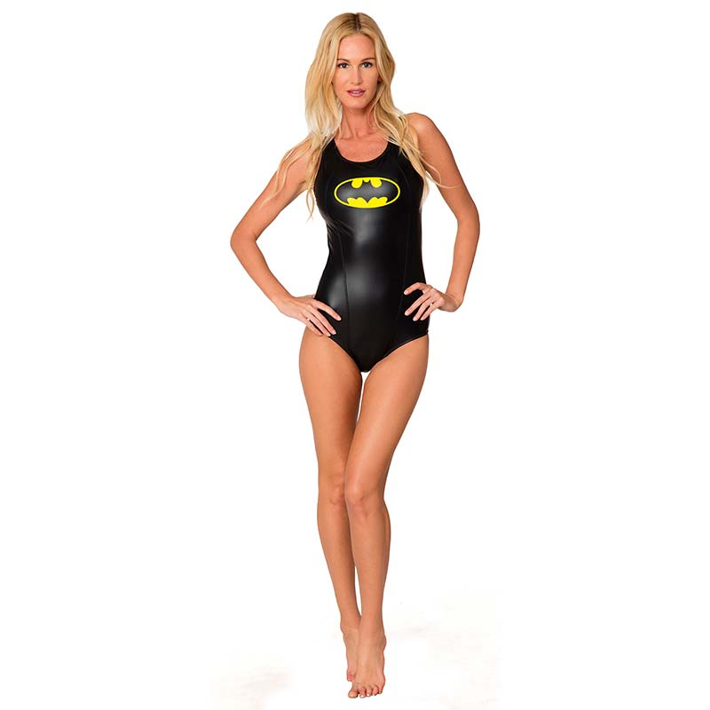 Batman Racerback One Piece Swimsuit