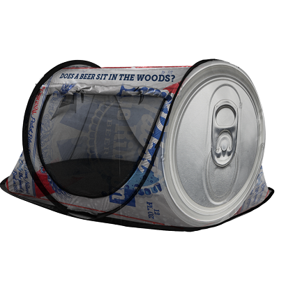 PBR Can Shaped Camping Tent